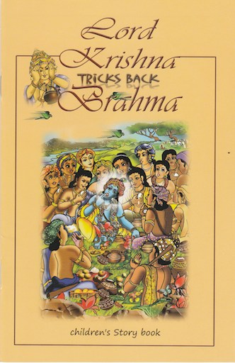 Lord Krishna Tricks back Brahma