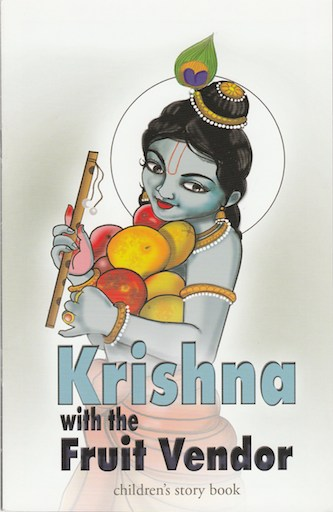 Krishna & the fruit vendor