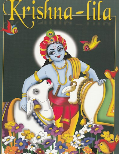 Krishna Lila - Coloring Book